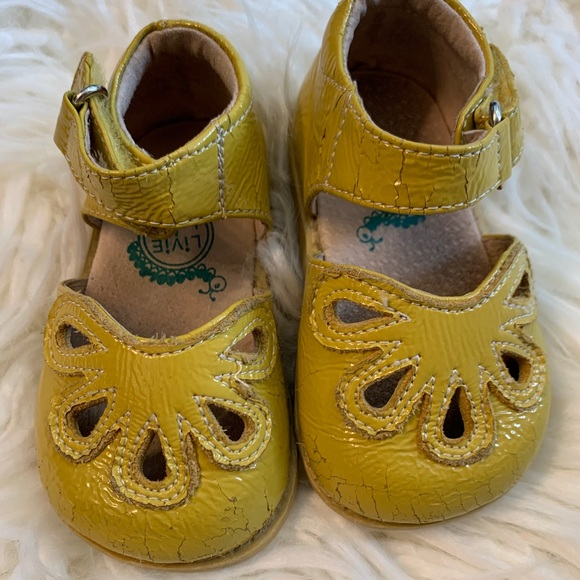 Livie & Luca Other - ✔️SOLD✔️Livie & Luca mustard petal shoes